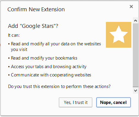 google stars install Google Stars extension for Chrome leaks: Hands on