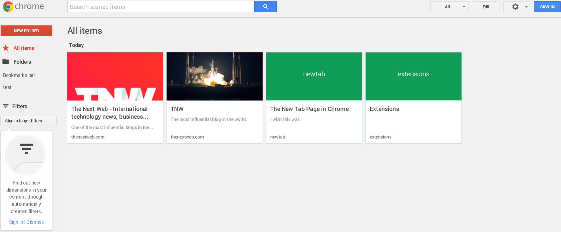 google stars main Google Stars extension for Chrome leaks: Hands on