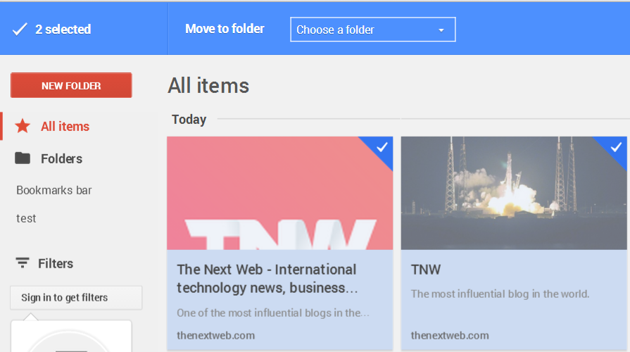 google stars selected Google Stars extension for Chrome leaks: Hands on