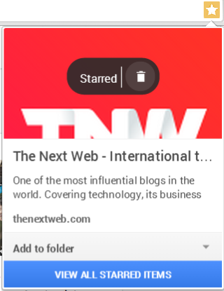 google stars tnw Google Stars extension for Chrome leaks: Hands on