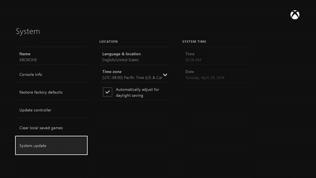 may update 2 Xbox One update to add sound mixer, volume controls for Kinect chat, option to help improve speech recognition