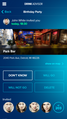 meetings one eng 1 220x390 DrinkAdvisor: This app is your guide to the best drinks, bars and nightclubs