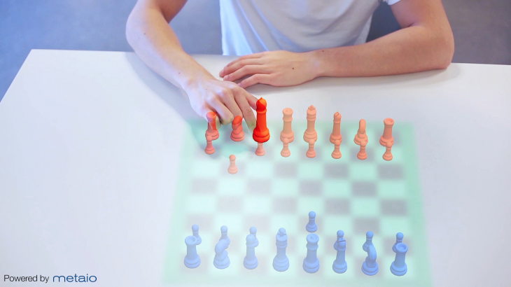 metaio thermaltouch chess 730x410 Metaio is combining infrared and augmented reality technology to turn any surface into a touchscreen