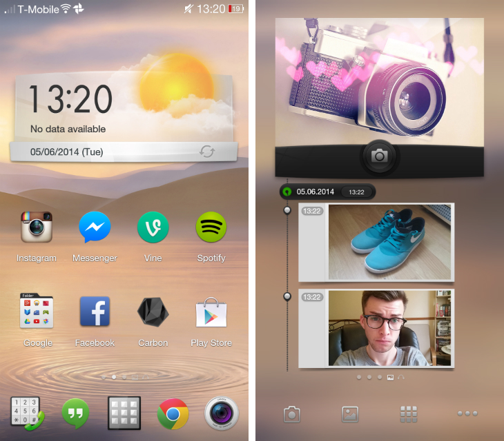 opposcreen1 Oppo Find 7a review: Theres no 2K display, but this huge Android smartphone is still a home run