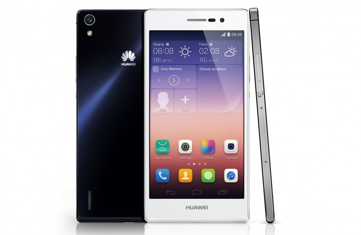 p7better 730x475 Huawei Ascend P7 unveiled: 5 inch 1080p display, 6.5mm chassis and 8MP front facing camera