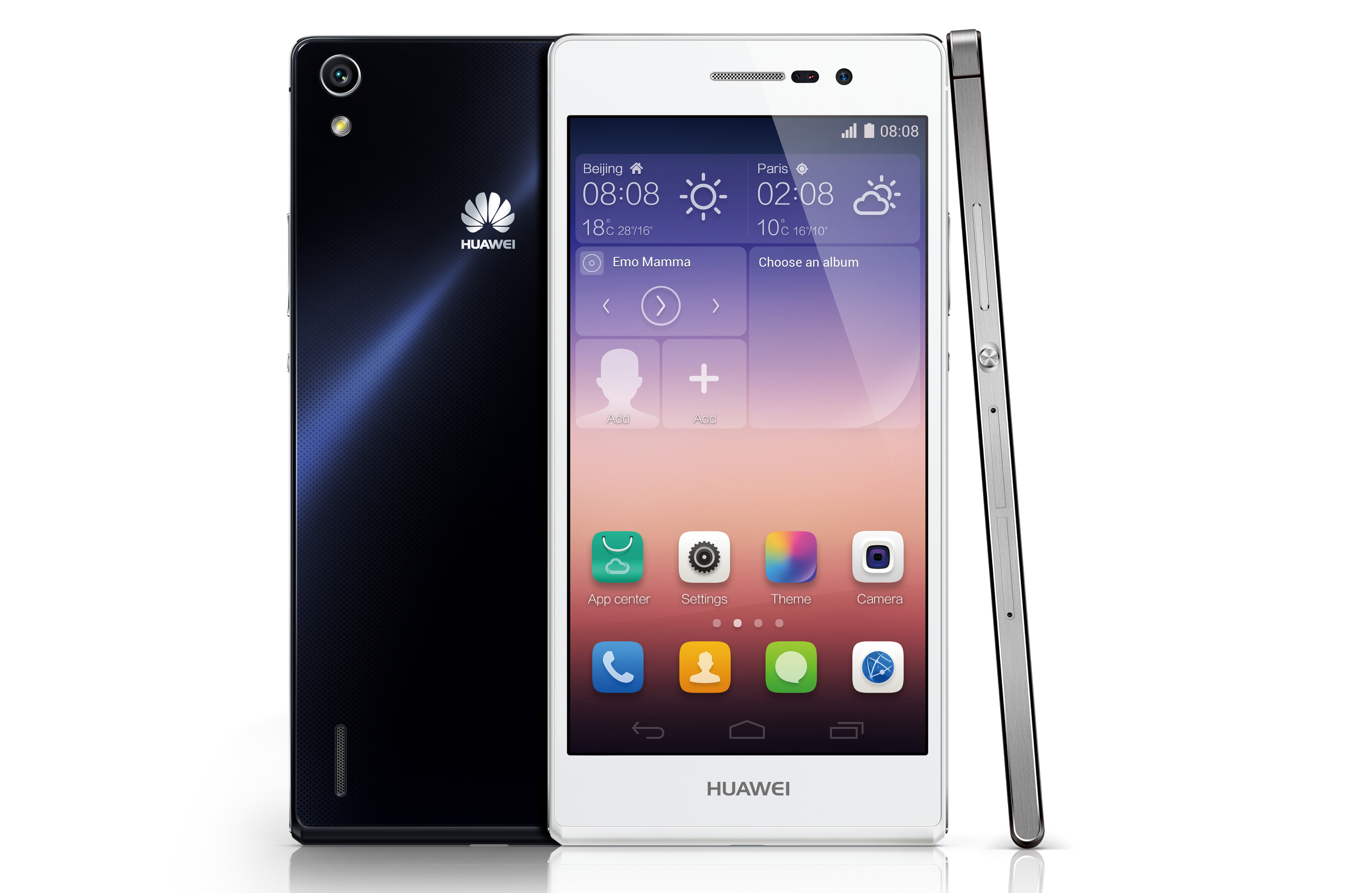 Huawei Ascend P7 unveiled 5inch 1080p display 6 5mm chassis and 8MP