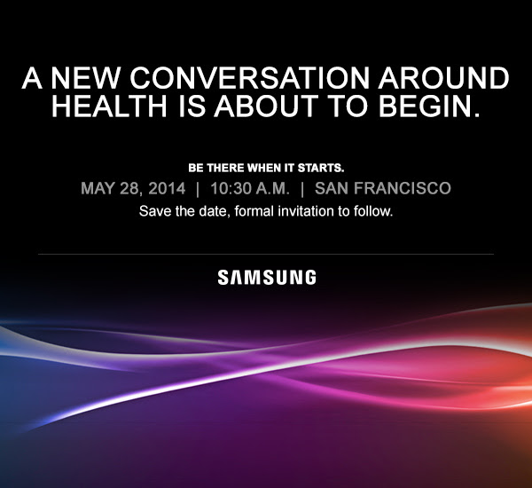 samsung Samsung plans a new conversation around health, starting with a press event on May 28