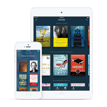 simonschuster Subscription ebook service Oyster adds Simon & Schuster, its second 'Big 5' publisher