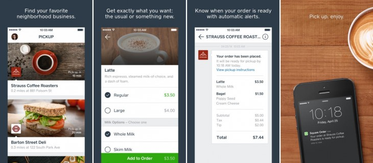 square order 1 730x320 Square branches out into food ordering with new Square Order service [Updated]