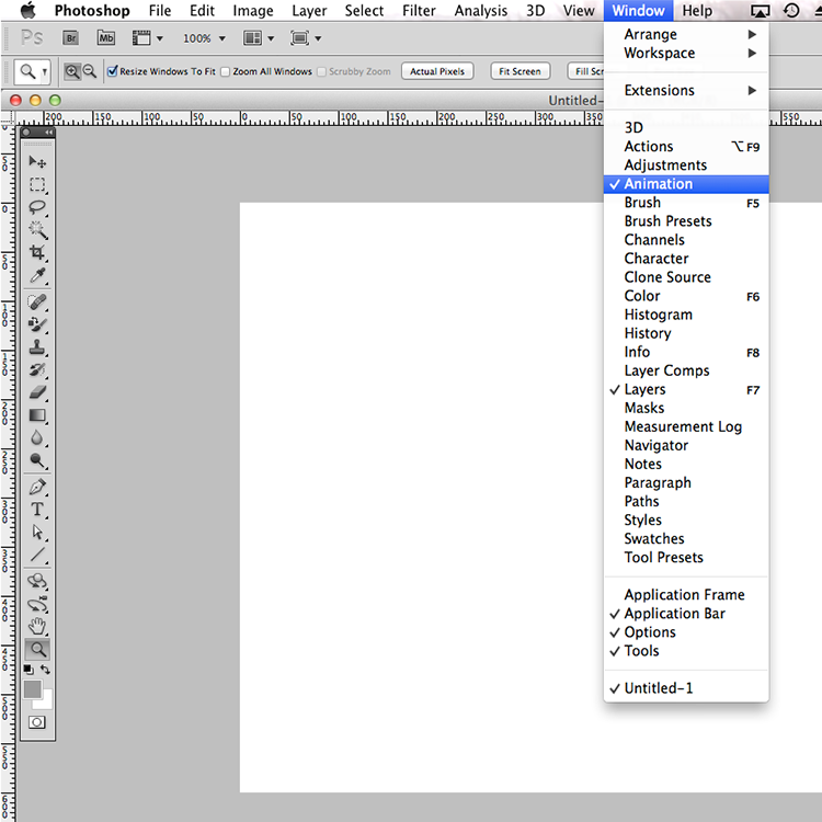 static.squarespace1 Mystery solved: Wheres the animation window in Photoshop Creative Cloud?