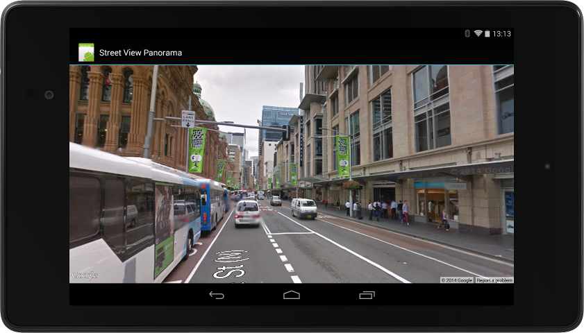 street n7 Google updates Play services with Street View imagery, running and walking detectors, promo ads, and more