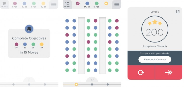 twodots1 730x346 Still playing Dots? Meet its equally addictive sequel, Two Dots