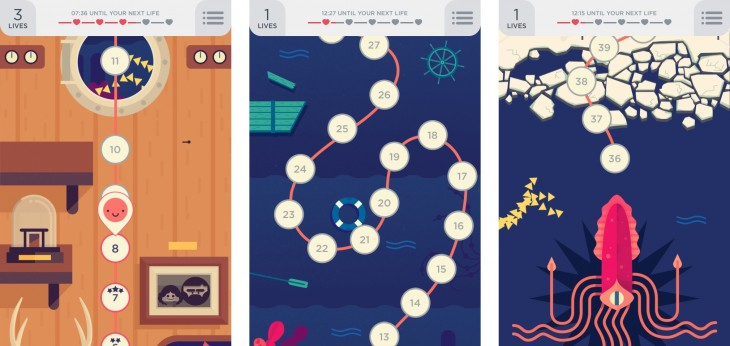 twodots2 730x346 Still playing Dots? Meet its equally addictive sequel, Two Dots