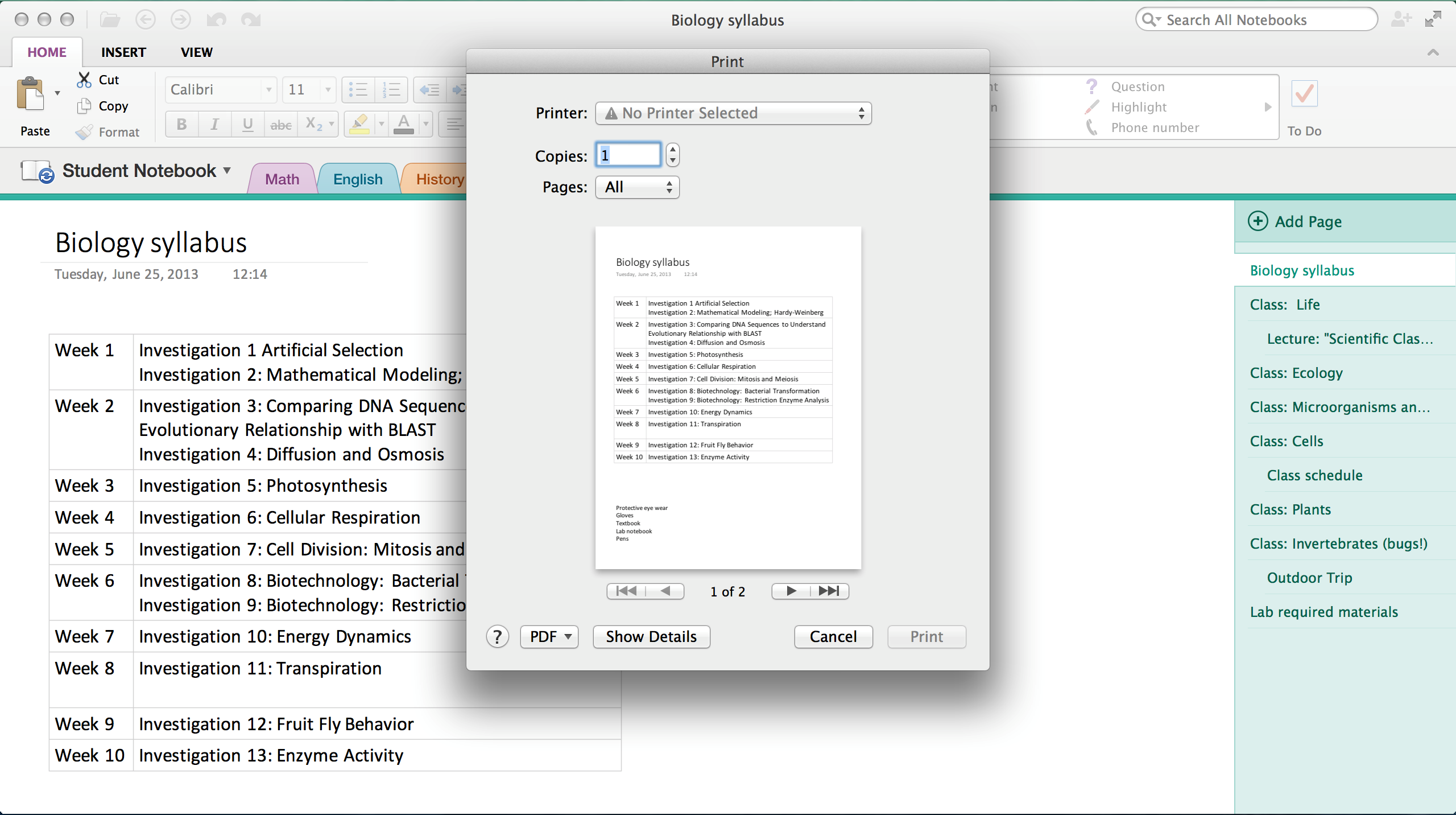 update1 OneNote for iPhone gets notebook creation and iOS 7 redesign, OneNote for Mac gets printing and saving to PDF