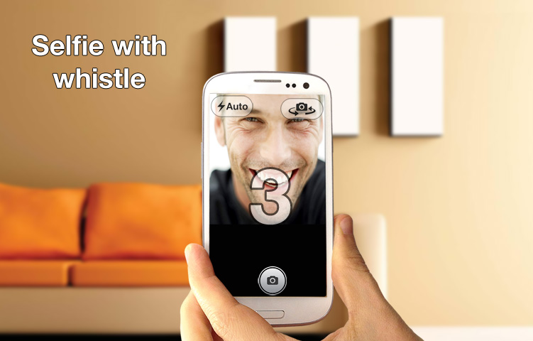 whistle camera help1 Whistle Camera for Android lets you take photos and selfies with your mouth