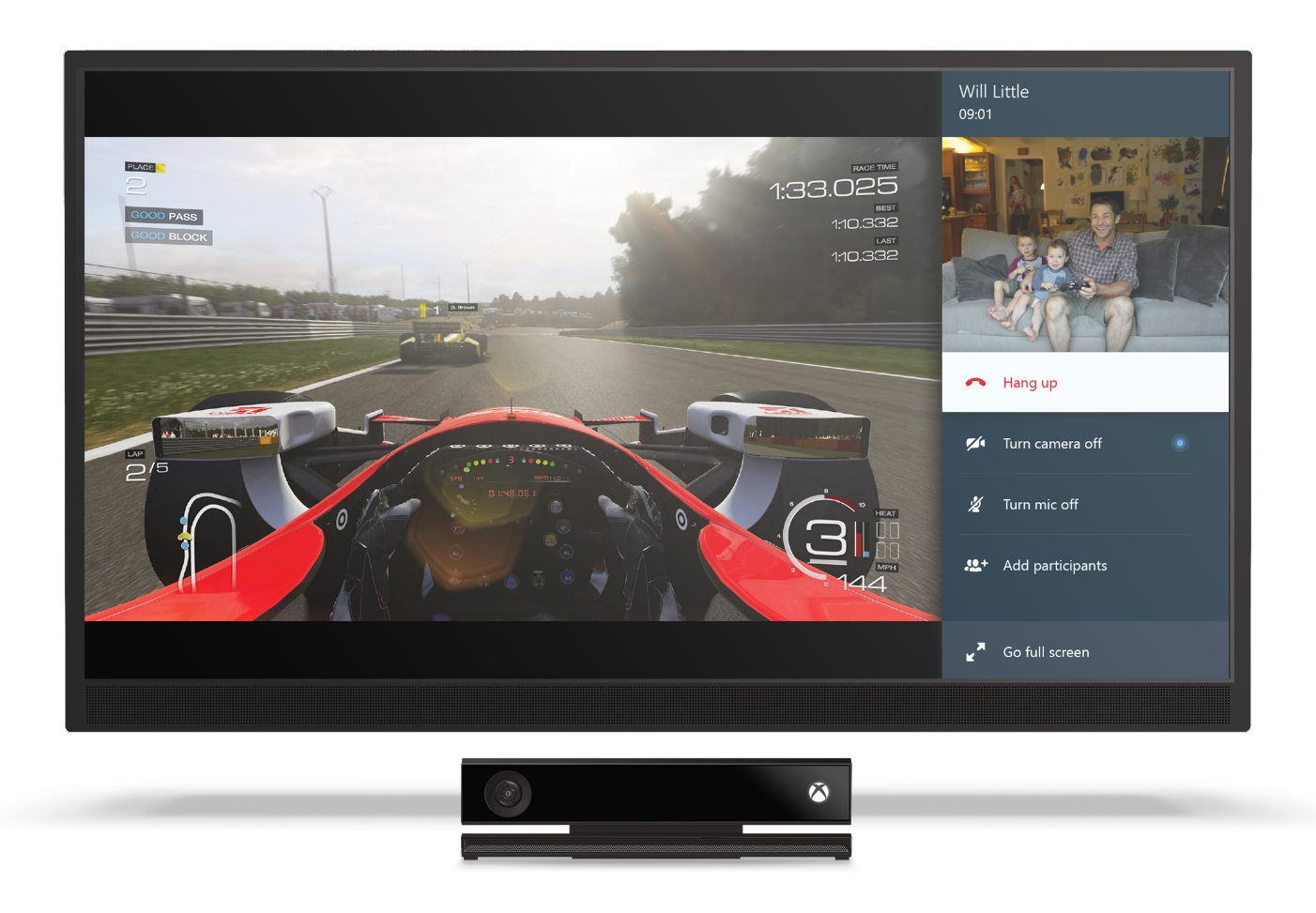 xbox snap 1 Skype for Xbox One gets full Snap support: Make voice and video calls while playing games and watching TV