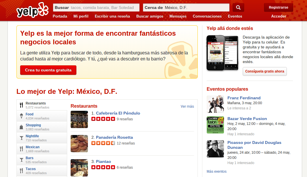 yelp mexico April in Latin America: All the tech news you shouldn't miss from the past month