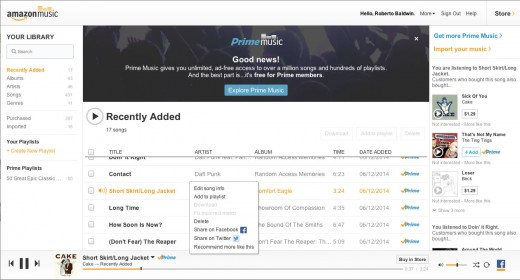 0612 amazonmusic8 520x280 Amazon Prime Music quietly goes live, offering ad free access to over 1 million songs
