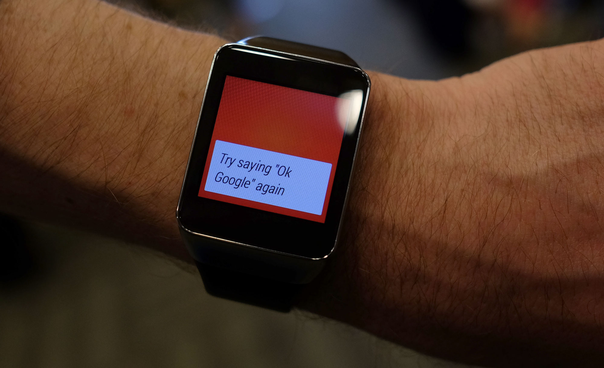 Hands on with the Samsung Gear Live Running Android Wear