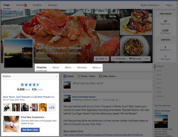 10173507 1436593366599302 1227679181 n Facebook rolls out one column Timeline design to all Pages