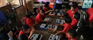 Classroom laptop