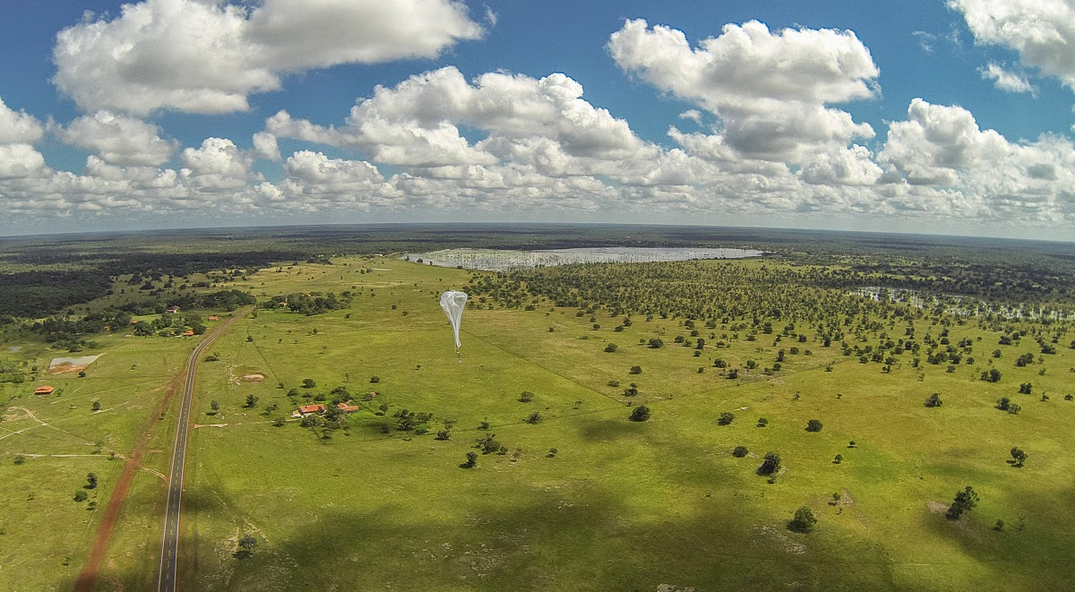 Google Marks Project Loon Birthday with First LTE Experiments