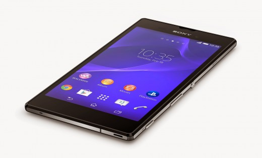 2 Xperia T3 Black Tabletop1 520x313 Sony unveils the Xperia T3, touted as the worlds slimmest 5.3 inch smartphone