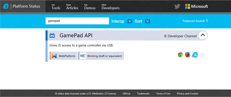 7002.aiedc image4 760x318 Microsoft finally launches IE Developer Channel, featuring support for WebDriver, Xbox 360 controller, and more