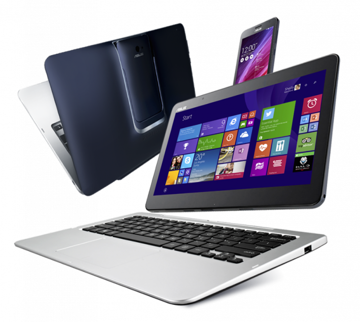 ASUS Transformer Book V 1 730x653 Asus unveils a Windows Android device that is a laptop, tablet and smartphone all at once