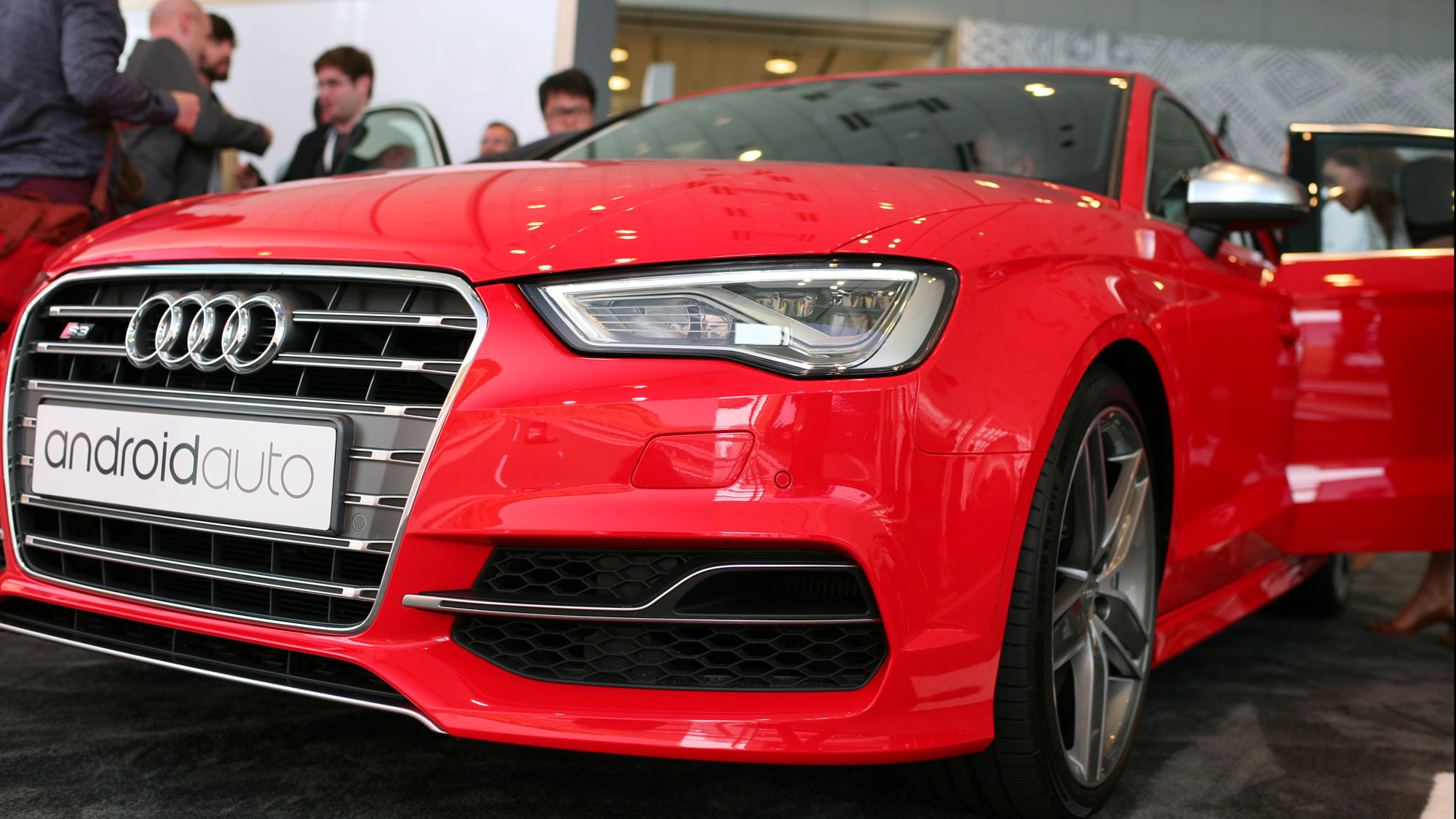 Hands on with the Audi A3 with Android Auto - The Next Web