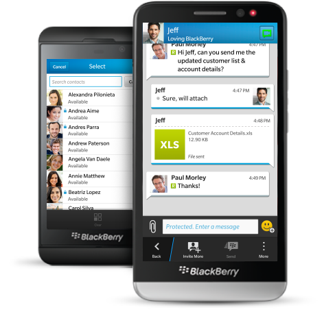 BBM Protected BlackBerry launches BBM Protected, bringing extra security for enterprise users