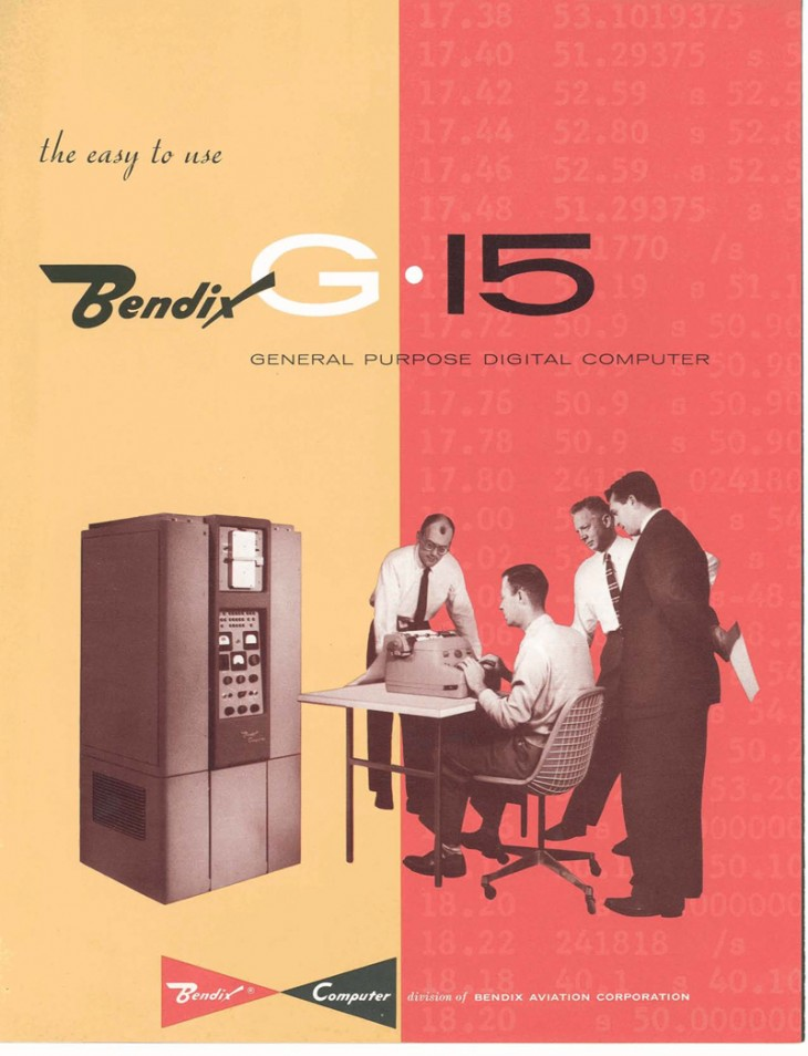 Bendix.G15 730x954 Vintage computer brochures channel your inner nerd
