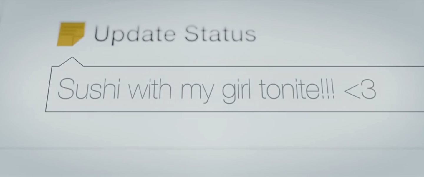 Sad Video: Facebook Status Updates May be Lies