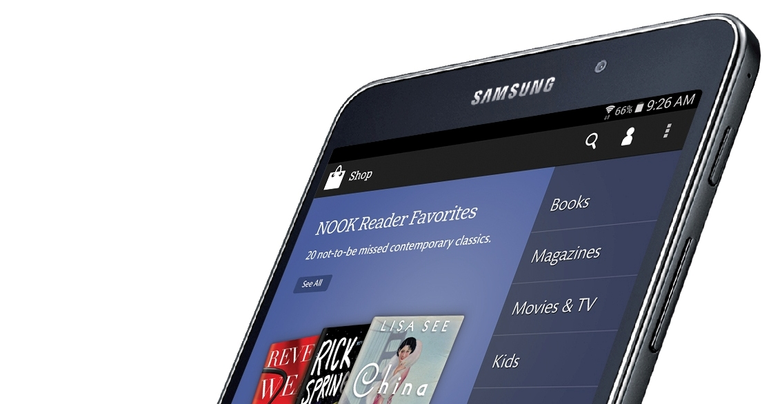 Samsung Galaxy Tab 4 Nook Tablet Will Soon be a Thing
