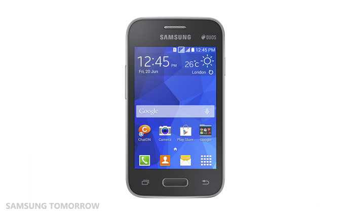 Galaxy Star 2 Black Samsungs new low end smartphones offer Android 4.4 and its redesigned TouchWiz skin