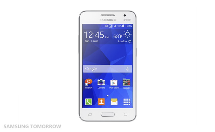 Galaxy Core 2 White 1 Samsungs new low end smartphones offer Android 4.4 and its redesigned TouchWiz skin