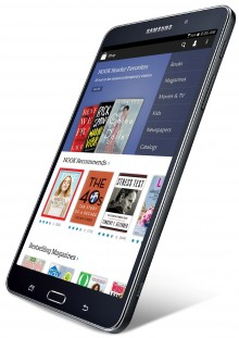 Galaxy Tab 4 NOOK 220x311 Samsung and Barnes & Noble partner to launch a Galaxy Tab 4 Nook tablet
