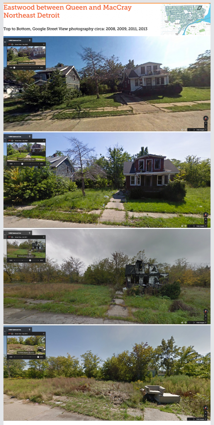 GooBing Detroit 730x1448 Detroits apocalyptic downturn visualized using Google Street View