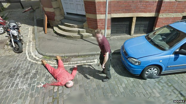 picture of fooling google map
