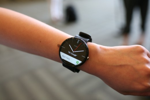IMG 87601 520x346 Hands on with the Moto 360: Its as beautiful as promised