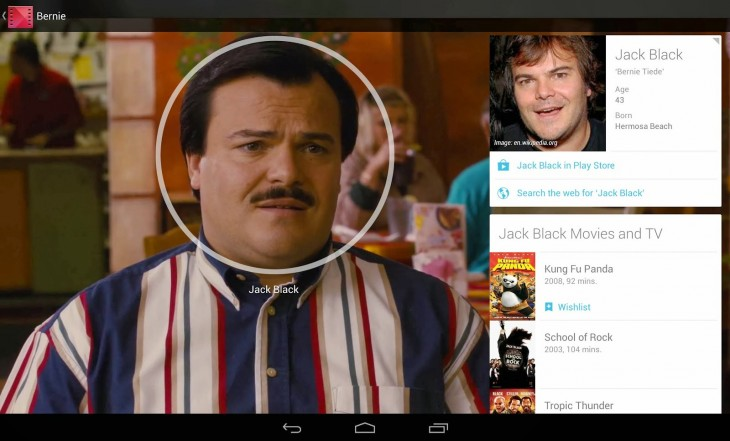 Google is rolling out actor and soundtrack info cards for all Play Movies users