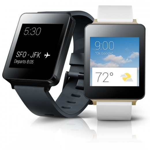 LG G Watch 1 520x520 Samsung Gear Live and LG G Android Wear smartwatches available to pre order today