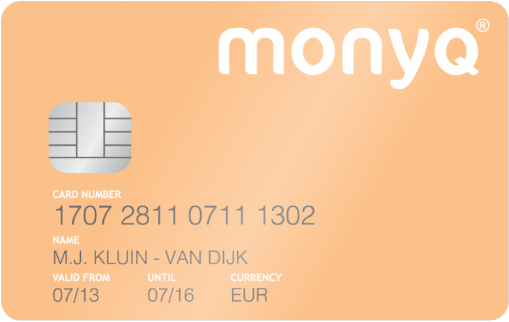 MonyqPayCardFront1000x633 730x462 Monyq wants to bring order to your personal finances using more than just shoeboxes on shelves