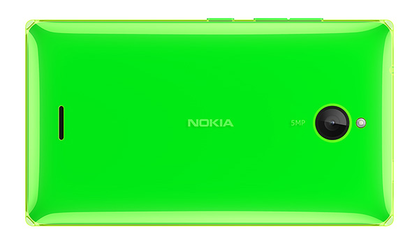 Nokia X2 Bright Green Back  Microsoft launches the Nokia X2, a 4.3 inch, $135 addition to its family of Android phones