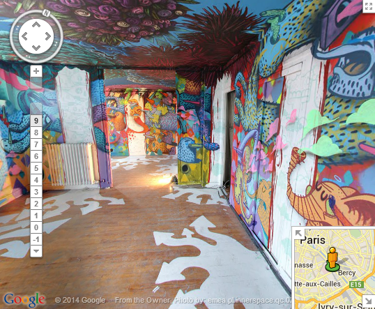 Paris13 Google launches new project to preserve street art long after the paint has gone