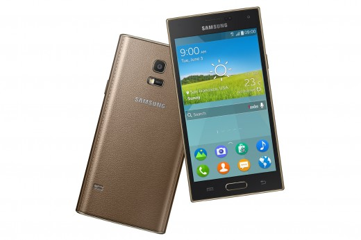S Image SM Z910F combination Gold Dynamic 520x346 The Samsung Z is the worlds first Tizen smartphone, will go on sale in Russia in Q3 2014