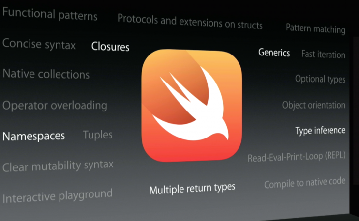 Screen Shot 2014 06 03 at 6.47.25 am 730x450 Apple announces Swift, a new programming language for iOS and OS X