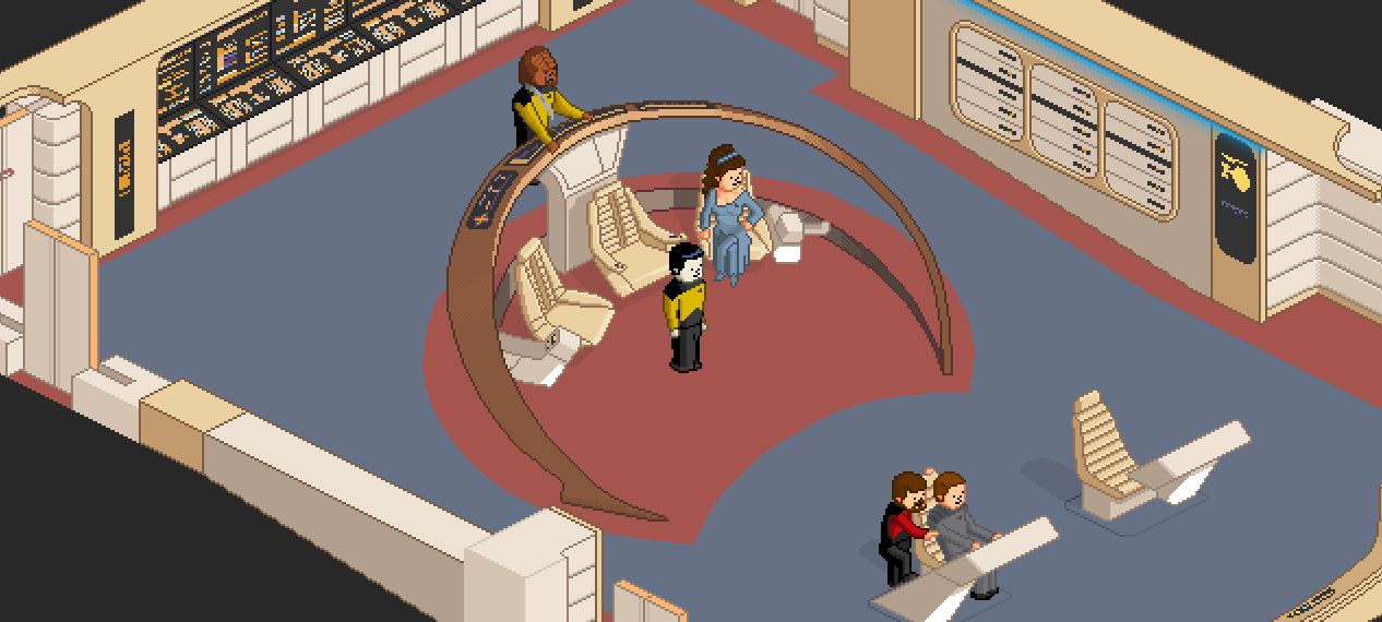 Play an Adorable Pixel Art Recreation of Star Trek