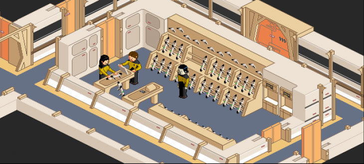Screen Shot 2014 06 15 at 8.15.27 am 730x330 Play an adorable pixel art recreation of Star Trek