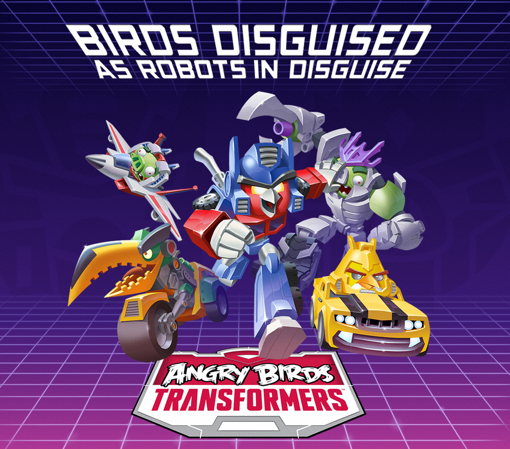 Angry birds transformers - фото 5